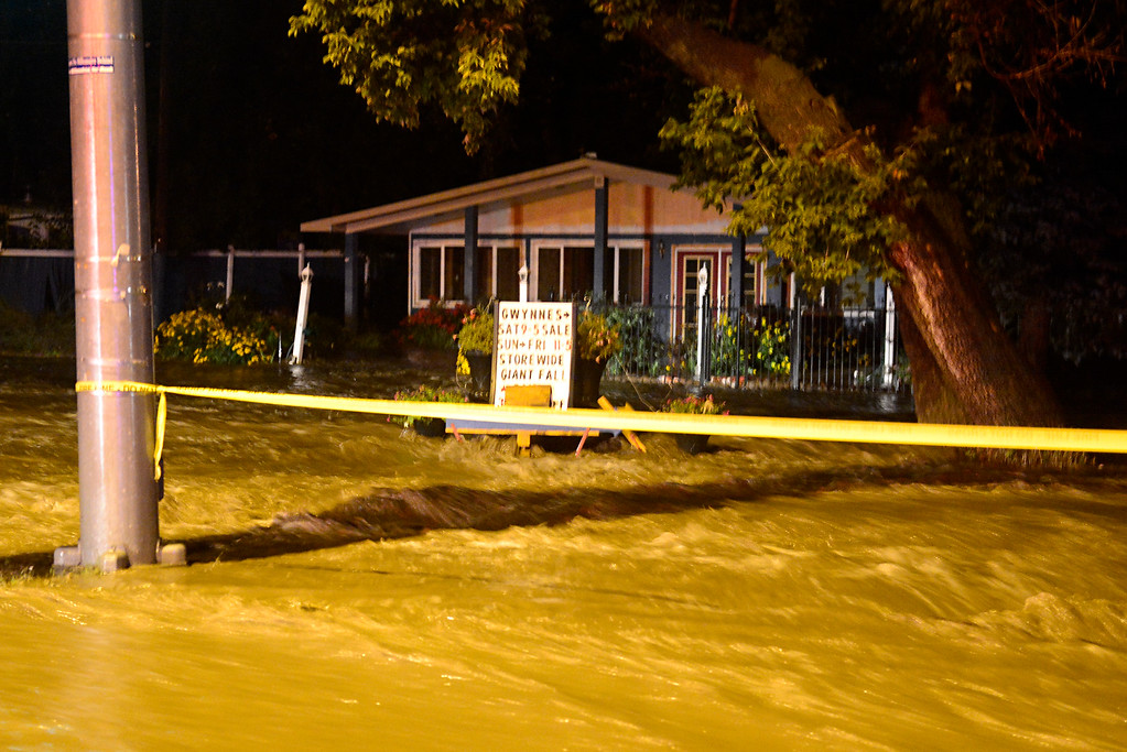 . Flooding near Lyons Wednesday, Sept. 11, 2013. For more photos visit www.TimesCall.com. (Greg Lindstrom/Times-Call)
